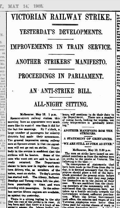 The West Australian, Thu 14 May 1903, P5. Via Trove
